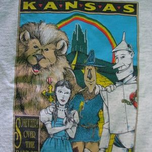 Vintage Wizard of Oz Graphic T-Shirt, M